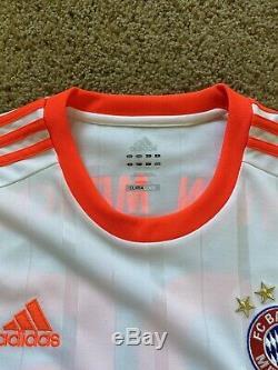 12/13 Adidas Bayern Munich Jersey Large Muller
