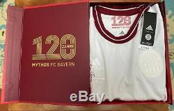 120 Years FC Bayern Munich Anniversary Special Shirt Adidas Size XL Jersey