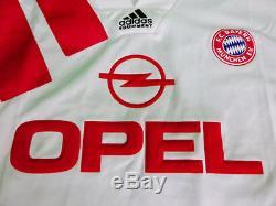 1991-1992 FC Bayern Munchen Munich FCB Jersey Shirt Trikot OPEL Retro Vintage M