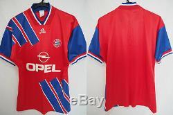 1993-1994-1995 Bayern München Munchen Munich FCB Jersey Shirt Trikot Home OPEL M