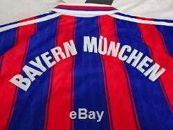 1995-1997 Bayern Munchen Munich FCB Jersey Shirt Trikot adidas rare M OPEL BNWT