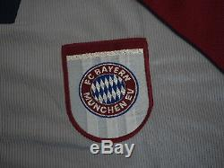 1997-1998-1999 Bayern Munchen Munich FCB Jersey Shirt Trikot Away OPEL CL UCL M