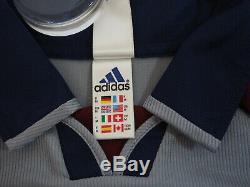 1997-1999 Bayern Munchen Munich Jersey Shirt Trikot Away Adidas OPEL CL UCL M