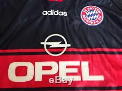 1998-1999 Bayern München Munchen Munich Jersey Shirt Trikot Home OPEL XXL BNWT