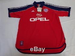 1999-2001 Bayern München Munchen Munich Jersey Shirt Trikot Home OPEL XL BNWT