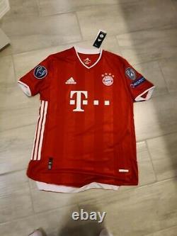 20-21 Bayern Munich Jersey Player Edtion Lewandowski #9 Champions League