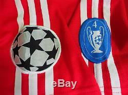 2001-2002 Bayern München Munchen Munich Jersey Shirt Trikot Home OPEL CL UCL L