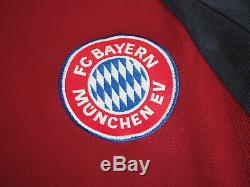 2001-2002 Bayern Munchen Munich FCB Jersey Shirt Trikot Home OPEL Ballack #13 XL