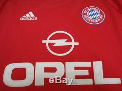 2001-2002 Bayern Munchen Munich Jersey Shirt Trikot UEFA Champions League UCL L