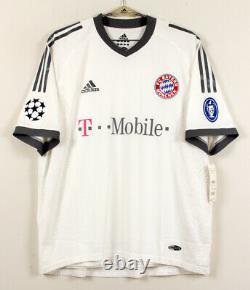 2002-03 Bayern Munich Away S/S No. 13 BALLACK Player ISSUE Champions 02-03 jersey