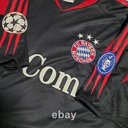 2004 2005 Adidas BAYERN MUNICH PAOLO GUERRERO UCL Soccer Jersey Trikot Men Large