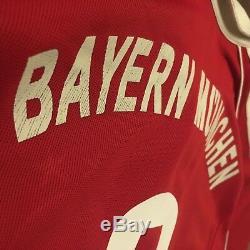 2006/07 Bayern Munich Home Jersey #8 Ali Karimi Large Adidas Iran Soccer USED