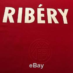 2007/08 Bayern Munich Home Jersey #7 Ribery Medium Soccer Football France New