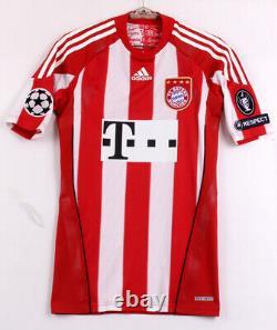 2010-11 FC Bayern Munchen Home S/S No. 10 ROBBEN Techfit Champions trikot jersey