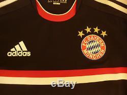 2011-12 Adidas Bayern Munich Third Jersey Ucl Schweinsteiger Formotion Ls Medium