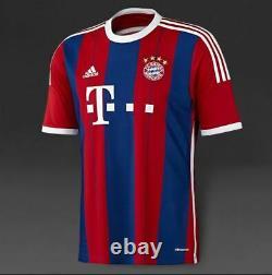 2014/15 Adidas Bayern Munich Home Football Soccer Jersey F48499