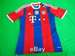 2014-2015 Bayern München Munchen Munich Jersey Shirt Trikot Home Adidas M BNWT