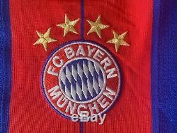 2014-2015 Bayern Munich Soccer Jersey / Germany Football Shirt / Adidas L
