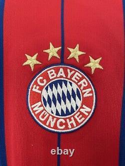 2014 2015 Bayern Munich Soccer Jersey Long Sleeve Adidas Medium Germany