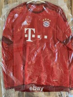 2015/16 Bayern Munchen XABI ALONSO NEW Champions Official Jersey Bayern Munich