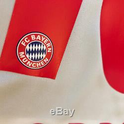 2015/16 Bayern Munich Away Jersey #10 Robben Large Adidas Soccer Football NEW