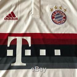 2015/16 Bayern Munich Away Jersey #9 LEWANDOWSKI Large Adidas Soccer Polish NEW