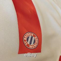 2015/16 Bayern Munich Away Jersey #9 LEWANDOWSKI Medium Adidas Soccer Polish NEW