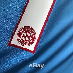 2015/16 Bayern Munich Goalkeeper Jersey #1 NEUER 3XL Adidas Long Sleeve GK NEW