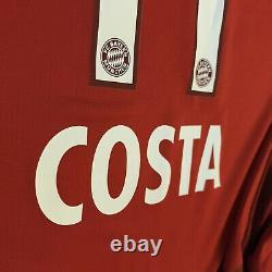 2015/16 Bayern Munich Home Jersey #11 Douglas Costa XL Adidas Long Sleeve NEW
