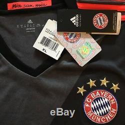 2016/17 Bayern Munich Away Jersey #10 ROBBEN XL Holland Netherlands NEW