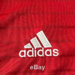 2016/17 Bayern Munich Home Jersey #9 LEWANDOWSKI Medium Adidas Soccer NEW