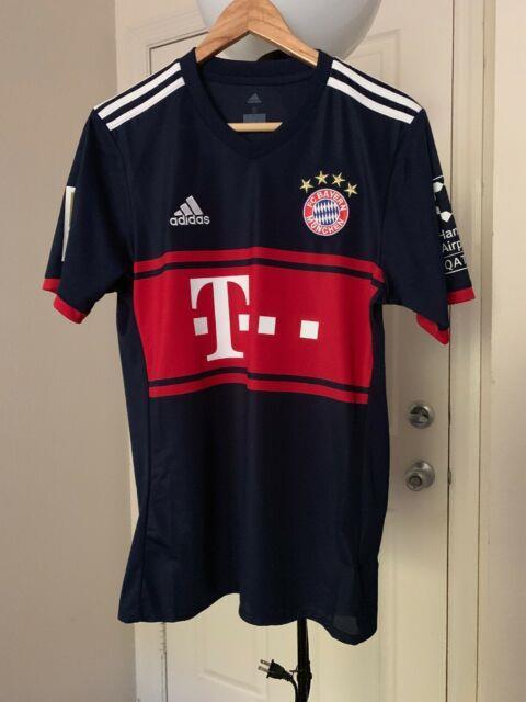 2017/18 Bayern Munich Away Jersey #10 Robben Holland Netherlands New Size Small