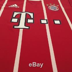 2017/18 Bayern Munich Home Jersey #11 JAMES Large LongSleeve Soccer Colombia NEW