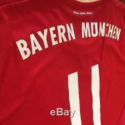 2017/18 Bayern Munich Home Jersey #11 JAMES RODRIGUEZ XL Long Sleeve Colombi NEW