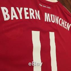2017/18 Bayern Munich Home Jersey #11 JAMES Rodriguez Large Soccer Colombia NEW