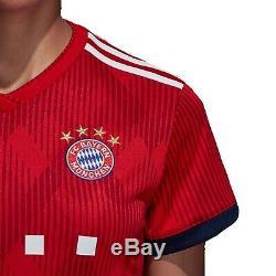 2018-19 Bayern Munich Adidas Womens M Home Blank Soccer Jersey $90 Munchen