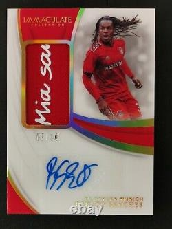 2018-19 Immaculate RENATO SANCHES GOLD Patch Jersey AUTO Autograph 07/10! RARE