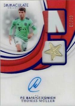 2018-19 PANINI IMMACULATE COLLECTION Jersey Autograph Thomas Muller 01/10