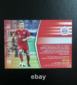 2018-19 Panini Treble Jersey Auto Card Joshua Kimmich #05/25 Bayern Germany