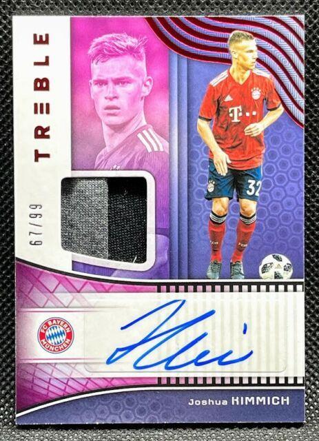 2018-19 Panini Treble =joshua Kimmich= Jersey Autographs Auto #'d /99 Bayern