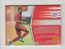 2018-19 Panini Treble Soccer Jersey Auto Card David Alaba #080/199