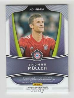 2018-19 Panini Treble Soccer Jersey Auto Card Thomas Muller #17/35