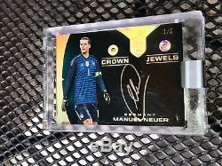 2018 Eminence Soccer Manuel Neuer Crown Jewels Dual Diamond Auto # 1/5= Jersey #