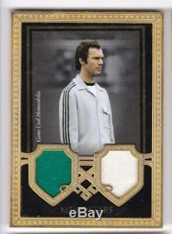 2018 Franz Beckenbauer /29 Futera Unique Jersey Memostars