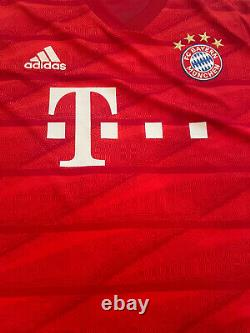2019/20 Bayern Munich Home Jersey #9 Lewandowski Medium Adidas Soccer NEW