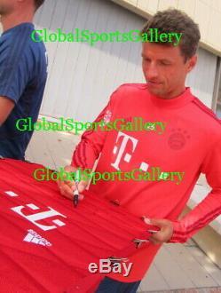2019-20 Bayern Munich team signed soccer jersey Alphonso Davies +22 PROOF