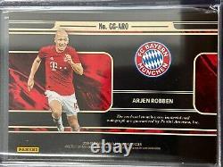 2019-20 Panini Gold Standard Arjen Robben Match Worn Jersey Auto /25 Fc Bayern