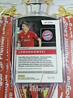 2019 Obsidian Robert Lewandowski Cutting Edge Match-worn Card #/25 BAYERN MUNICH