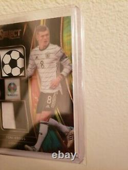 2020 Select UEFA EURO Toni Kroos SP Prizm Jersey Card 3/5