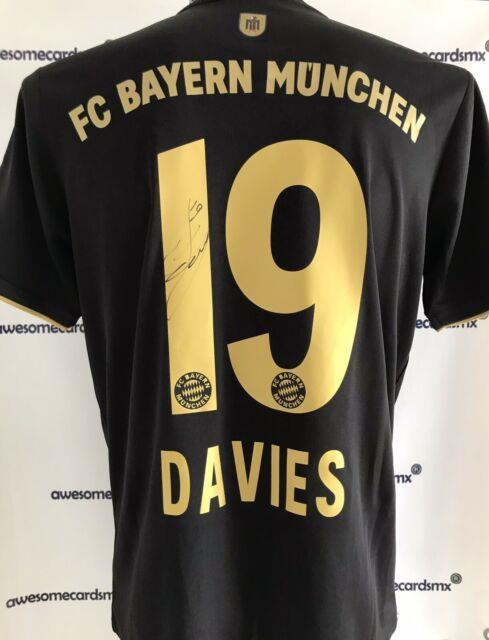 2021 Bayern Munich Jersey Signed By Alphonso Davies Certificate Authenticity